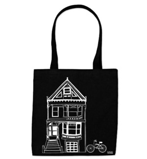 Black & White Victorian Everyday Tote