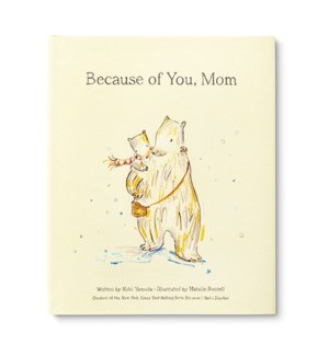 Book - Because of You, Mom