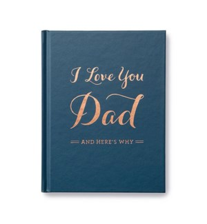 Book - I Love You Dad