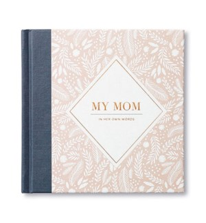 Book - My Mom Interview Journal