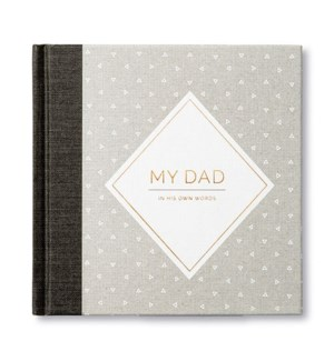 Book - My Dad Interview Journal