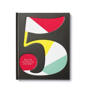 Book - Five: Where will you be five years from today?