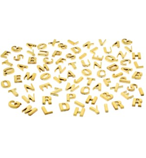 Alpha Magnets-Set/80-Brass