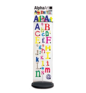 AlphaArt Acrylic Display