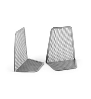 BookEnds-Mesh-Pair-Silver