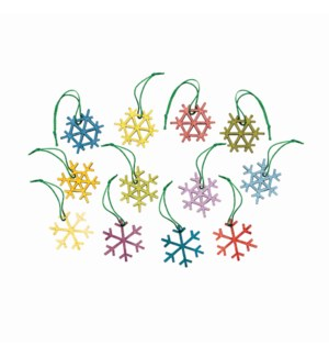 Alpine Ornaments-AsstSnw-St/24