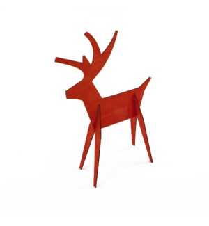Alpine Reindeer-Medium-Red