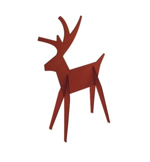 Alpine Reindeer-Large-Red