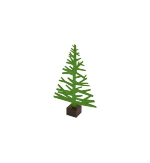 Alpine Tree-Sm-Forest Green