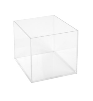 Acrylic Display Box-Sm-Sq-Cl
