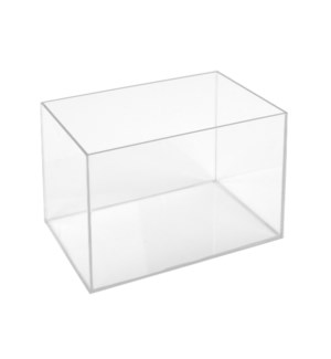 Acrylic Display Box-Lg-Rect-Cl