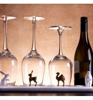 ANIMAL PARADE GLASS TRAY