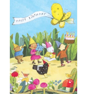 Birthday Parade Birthday Card