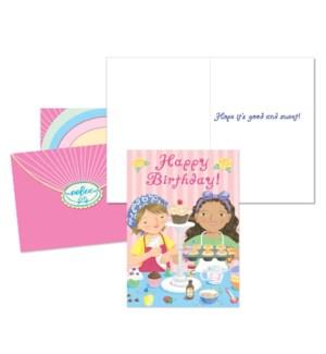 Birthday Cupcakes Birthday Card