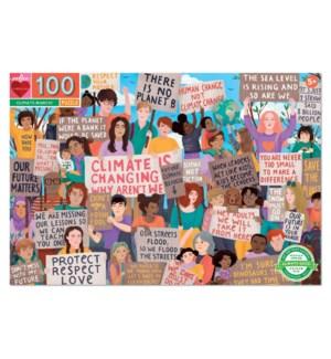 Climate March! 100 Piece Puzzle