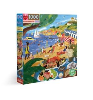 Beach Umbrellas 1000 Pc Sq Puzzle