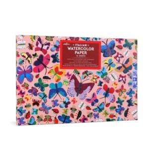 Butterflies Watercolor Pad