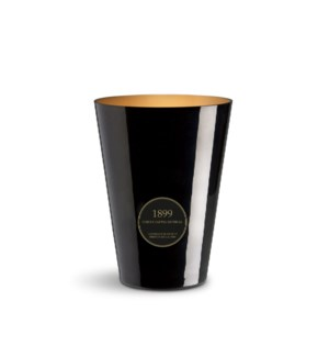 4 wick XXL Candle 3,5 kg/7.7 lb Bois de Santal Imperial Black & Gold