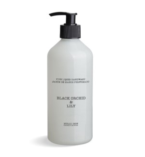 Fine Liquid Handwash 500 ml/16.9 fl oz Black Orchid & Lily Ivory