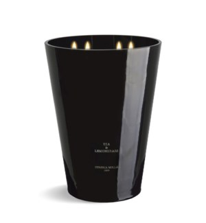 7 wick 3XL Candle 7 kg/15.4 lb Tea& lemongrass Black