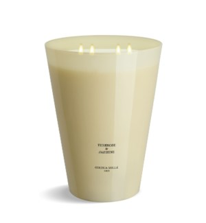 7 wick 3XL Candle 7 kg/15.4 lb Tuberose & Jasmine Ivory