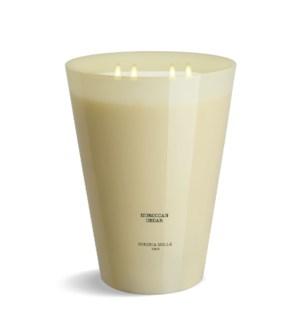 7 wick 3XL Candle 7 kg/15.4 lb Morocan cedar Ivory