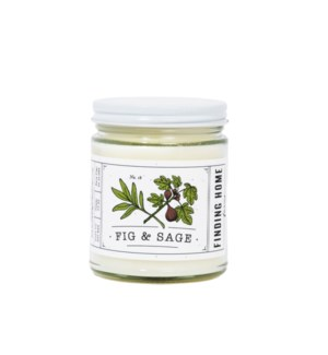 Fig & Sage 7.5 oz Soy Candle