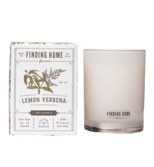Lemon Verbena 10 oz Soy Candle