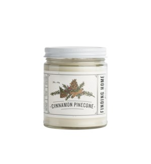 Cinnamon Pinecone 7.5 oz Soy Candle