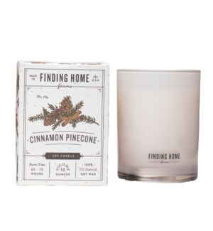 Cinnamon Pinecone 10 oz Soy Candle