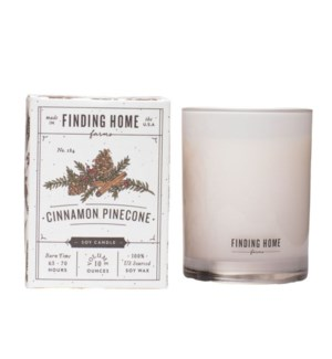 Cinnamon Pinecone 10 oz Soy Candle Tester