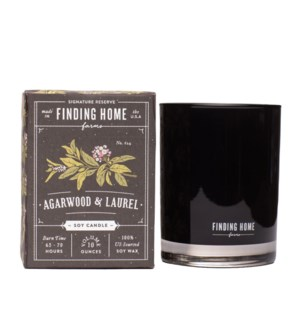 Agarwood & Laurel 10 oz Soy Candle