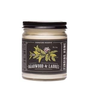 Agarwood & Laurel 7.5 oz Soy Candle Tester