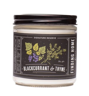 BlackCurrant & Thyme 13 oz Soy Candle