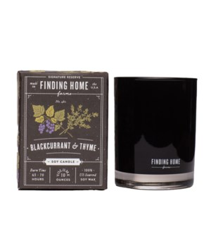 BlackCurrant & Thyme 10 oz Soy Candle