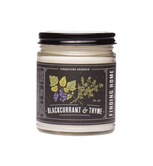 BlackCurrant & Thyme 7.5 oz Soy Candle