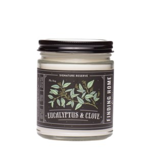 Eucalyptus & Clove 7.5 oz Soy Candle
