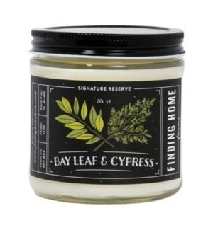 Bay Leaf & Cypress 13 oz Soy Candle Tester