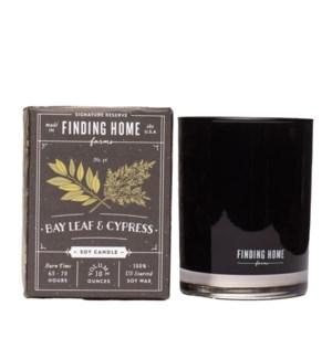 Bay Leaf & Cypress 10 oz Soy Candle Tester