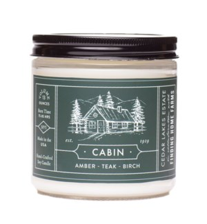 Cabin 13 oz Soy Candle Tester
