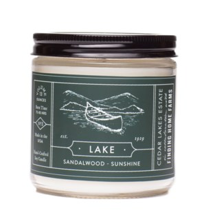 Lake 13 oz Soy Candle