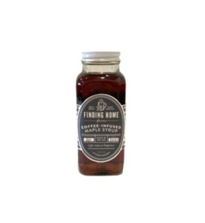 Coffee Infused Maple Syrup 8 oz
