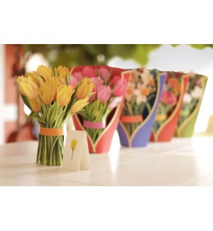 Mixed Case - 30 Flowers w/ Envelope @$4.75 plus 6 Display units (5+1 each of 6 Flowers)