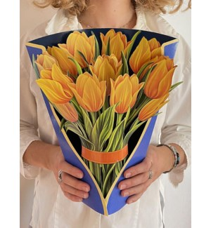Yellow Tulips (36 Flowers with Envelope)