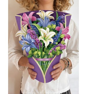 Lilies & Lupines (36 Flowers with Envelope @$4.60)