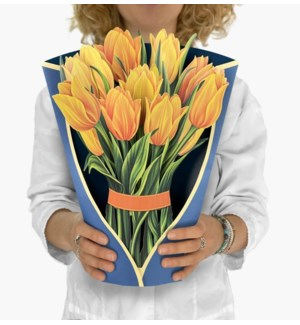 Yellow Tulips (8 Flowers with envelope @$4.75 plus 1 display sample)