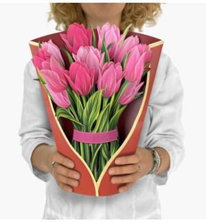 Pink Tulips (8 Flowers with envelope @$4.75 plus 1 display sample)
