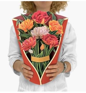 Murillio Tulips (8 Flowers with envelope @$4.75 plus 1 display sample)