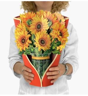 Sunflowers (8 Flowers with envelope @$4.75 plus 1 display sample)