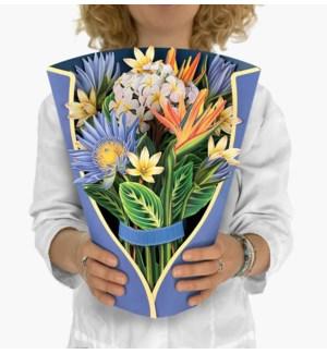 Tropical Bloom (8 Flowers with envelope @$4.75 plus 1 display sample)
